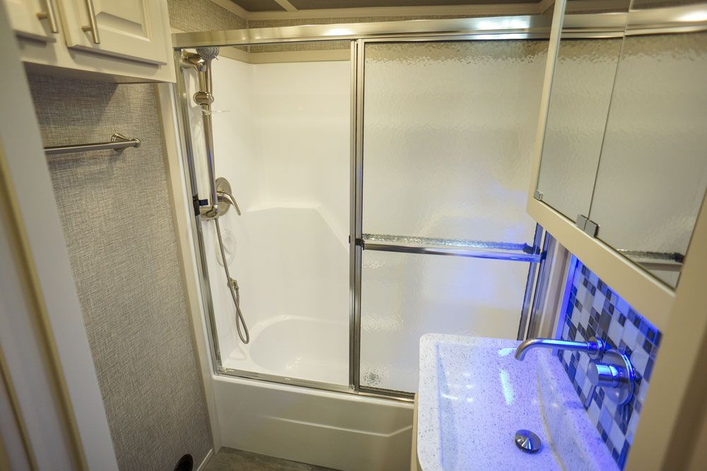 Luxury toy hauler master bath 03