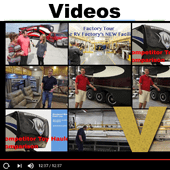 fifth wheel toy hauler videos